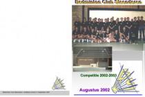 Clubblad 2002-08-kaft
