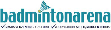 Advertentie BadmintonArena
